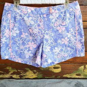 Eddie Bauer Swin Floral Mini Short Sz 8